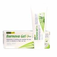 VITARA Burnova Gel Plus 25g เจลใสว่านหางจระเข้ ใบบัวบก แตงกวา สำหรับผิวตากแดด ผิวแพ้ง่าย ผิวหลังทรีทเม้นท์
