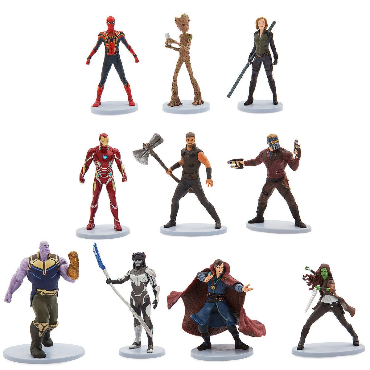 Avengers Infinity War Deluxe Figure Set (ของแท้)