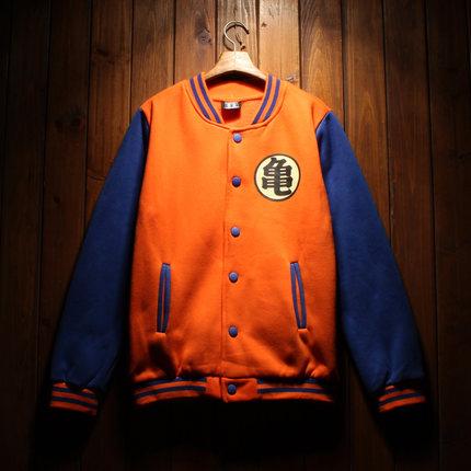 เสื้อแจ็คเก็ตเบสบอล Dragon Ball 2015