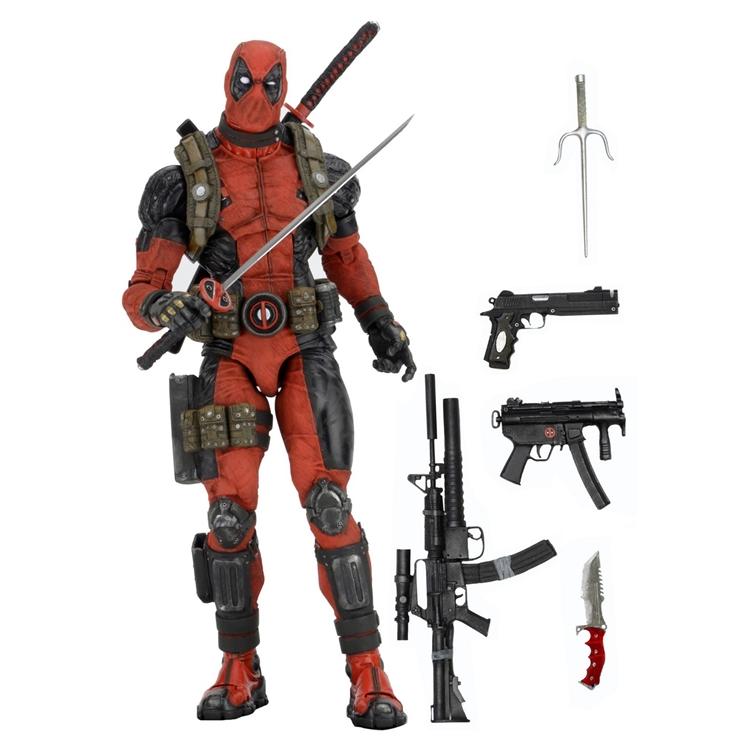 NECA Deadpool 1/4 Figure (ของแท้ลิขสิทธิ์)