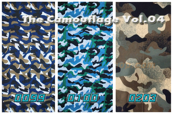 Headwear - The Camouflage Collections Vol.04 - 3 ผืน