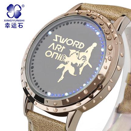 นาฬิกา LED จอสัมผัส SAO สีทอง (ของแท้)