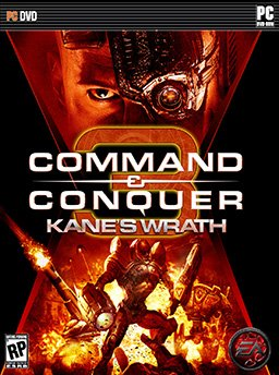 Command And Conquer 3 Kanes Wrath ( 1 DVD )